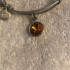 Topaz Swarovski Alex and Ani Bangle